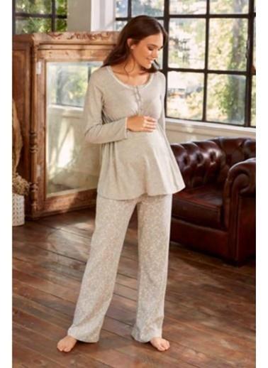 Eros Pijama Takım Gri